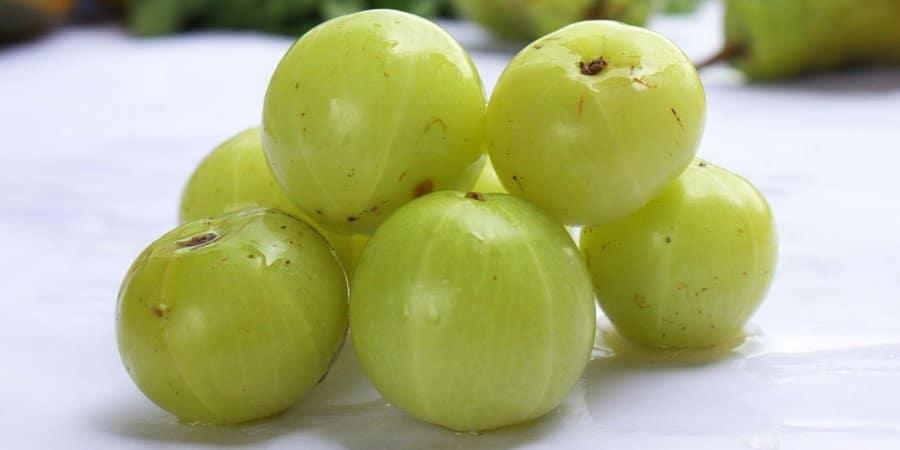 Les bienfaits d'amla (groseille indienne) pour la santé