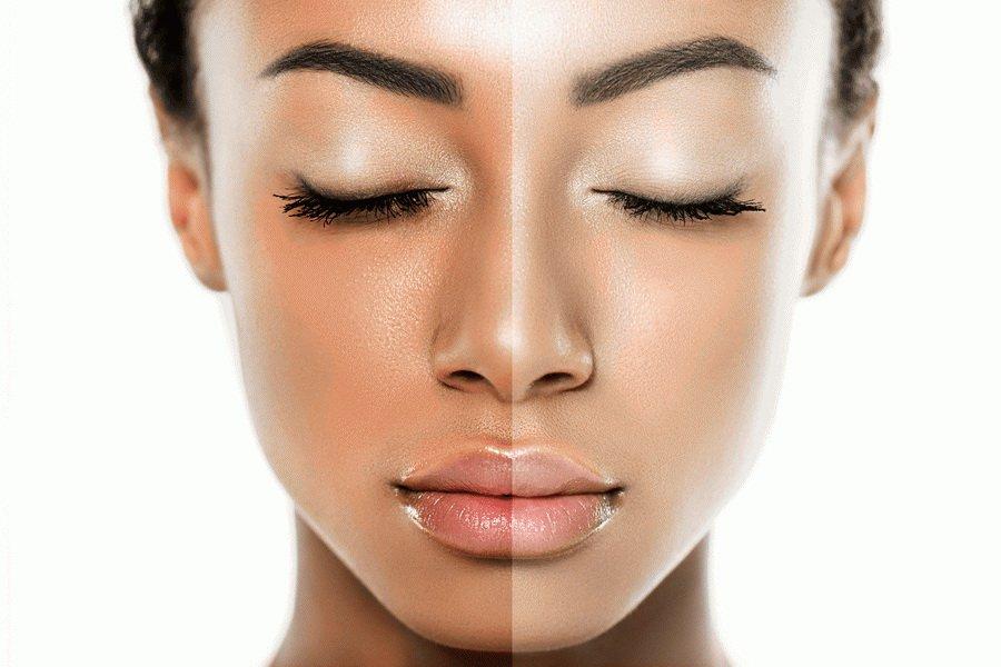 clarifiant et éclaircissant pour la peau