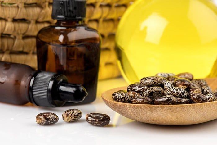 huile de ricin et huile d'argan